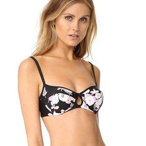 Kate Spade posey bikini top NWT